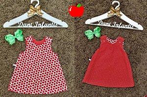 Vestido maçã cute