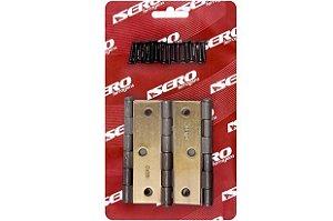 Kit Dobradiça Para Porta 3.1-2 Acet. Esc. C/ 3pçs - Isero