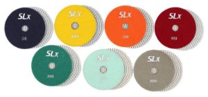 "Lixa Diamantada SLX - 100mm - 4"""