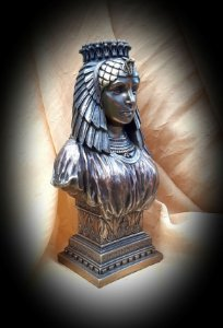 BUSTO RAINHA EGÍPCIA, VERONESE