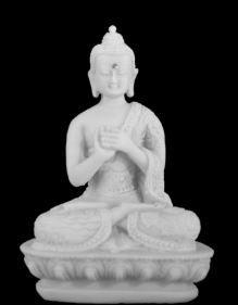 BUDA NEPAL MUDRA SABEDORIA 13 CM