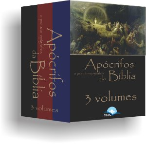 COLEÇÃO APÓCRIFOS E PSEUDO EPÍGRAFOS DA BÍBLIA, 3 VOLUMES. EDUARDO DE PROENÇA