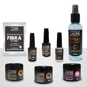 Kit Lacre Premium: Gel para Alongamento de Unha - 8 produtos