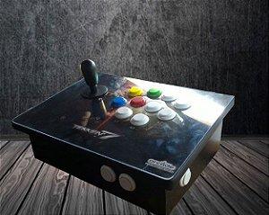 Controle Arcade Tekken zero delay 13 Botões. PC/PS3/PS4