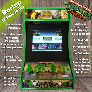 Bartop 17 Polegadas Tartarugas Ninja