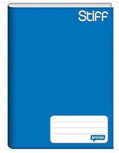 Caderno capa dura brochura universal - azul 96 folhas