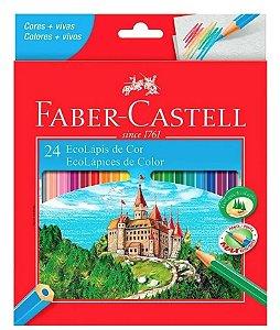 EcoLápis de Cor - 24 cores - Faber-Castell