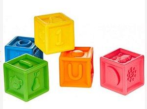 Brinquedo Cubinhos divertidos