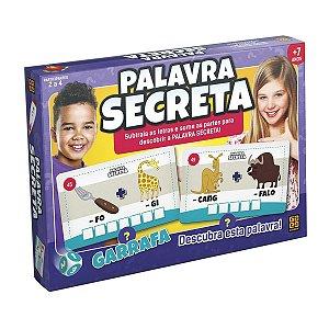 Jogo Palavra Secreta, Grow, Multicor