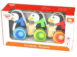 Pinguins de puxar