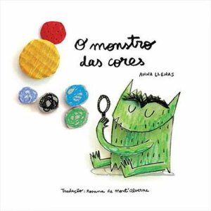 O monstro das cores - Editora Aletria