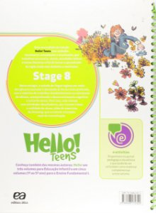 Hello! Teens. Stage 8 [Paperback] Eliete Canesi Morino