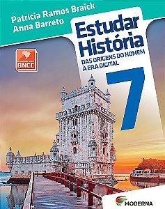 ESTUDAR HISTORIA: DAS ORIGENS DO HOMEM A ERA DIGITAL - 7º ANO - 3ªED.(2018)