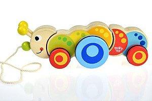 Lagarta de Puxar - Tooky Toy