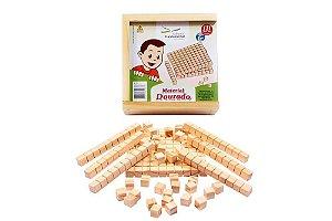Brinquedo Educativo Material Dourado - 111 peças