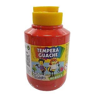 TEMPERA GUACHE 250 ML VM FOGO ACRILEX