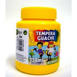 TEMPERA GUACHE 250 ML AM OURO ACRILEX