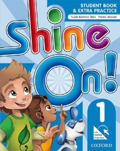 SHINE ON! 1 - STUDENT BOOK WITH ONLINE PRACTICE