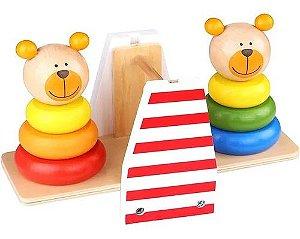 Ursinhos de Equilíbrio (Balança de Ursos) - Tooky Toy