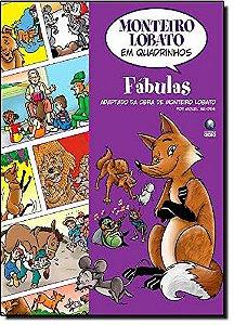 Monteiro Lobato em Quadrinhos - Fábulas - Miguel Mendes