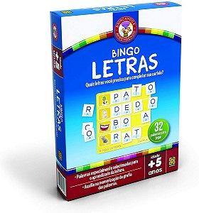 JOGO EDUCATIVO BINGO LETRAS
