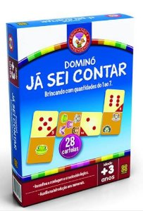 JOGO EDUCATIVO DOMINÓ JÁ SEI CONTAR