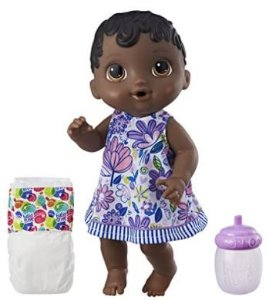 BABY ALIVE HORA DO XIXI NEGRA NEW E0308