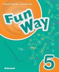 FUN WAY 5º ano - 5ª ed. - Livro do Aluno + Almanac Fun Way