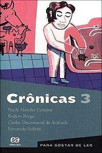 PARA GOSTAR DE LER - CRÔNICAS 3