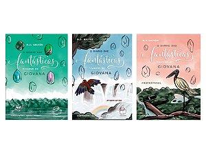 Kit Volume 1, 2 e 3: O diário das fantásticas viagens de Giovana #AMAZONIA, #PARTIUFOZ e #NOPANTANAL (D.J. Galvão)