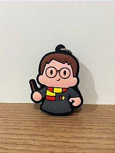 Chaveiro de Borracha Harry Potter