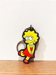 Chaveiro de borra Liza Simpsons