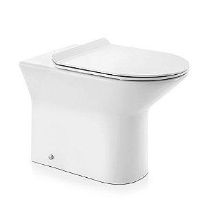 Docol Bacia Convencional Lift Branco + Assento + Acessórios de Fixação Cromado