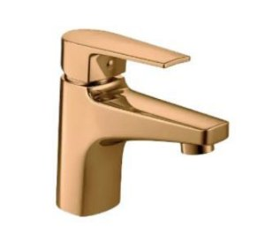Misturador Deca D.Coat Monocomando Mesa Bica Baixa Level Red Gold