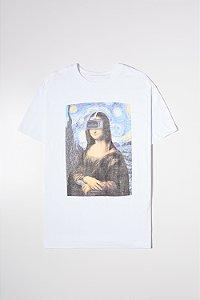Camiseta Estampada 3D Mona
