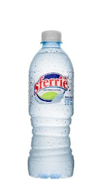 Água Mineral Sferrie sem Gás 510 ml Pet (Pacote/Fardo 12 garrafas)