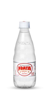Água Mineral Prata com Gás 310 ml Pet (Pacote/Fardo 12 garrafas)