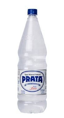 Água Mineral Prata sem Gás 1,5L Pet (Pacote/Fardo 06 garrafas)