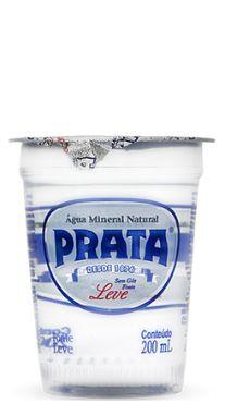 Caixa de Copo 200 ml Água Mineral Prata (c/ 48 unidades)