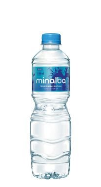 Água Mineral Minalba sem Gás 510 ml Pet (Pacote/Fardo 12 garrafas)