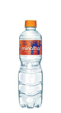 Água Mineral Minalba com Gás 510 ml Pet (Pacote/Fardo 12 garrafas)