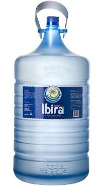 Galão de 7lts litros Água Mineral Ibirá descartável (pcte com 2 unid.)
