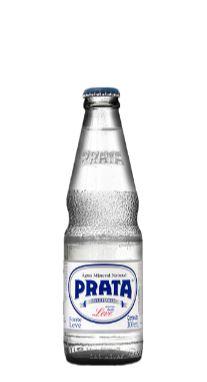 Água Mineral Prata natural Vidro 300ml Retornável (Engradado com 24 garrafas)