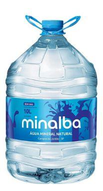 Galão de 10lts litros Água Mineral Minalba descartável (1 unid.)