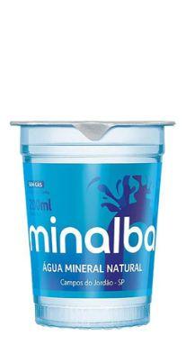 Caixa de Copo 200 ml Água Mineral Minalba(c/ 48 unidades)