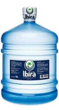 Galão de 10 Litros Água Mineral Ibirá Retornável