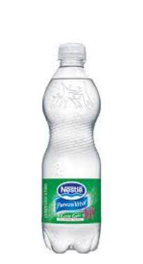 Água Mineral Pureza Vital Com Gás 510 ml Pet (Pacote/Fardo 12 garrafas)