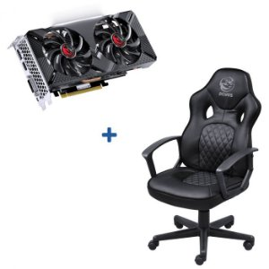 KIT PLACA DE VIDEO NVIDIA RTX 2060 + CADEIRA GAMER MAD RACER STI