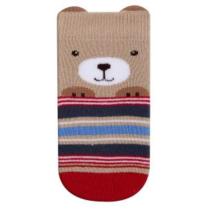 Meia Fun Socks Bebê Carinho Urso Winston