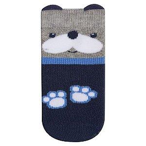 Meia Fun Socks Bebê Carinho Cachorro Winston